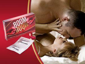 Boom Boom potencianövelő kapszulával kőkemény erekciód lesz akár reggelig